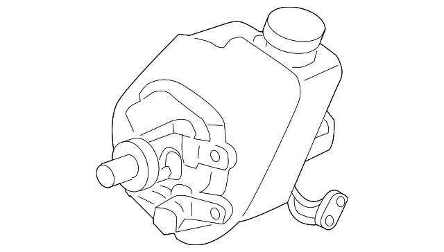 Buy Dorman Power Steering Pump Pulley Fits Ford Mercury Replaces