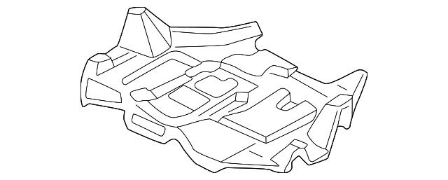 2003 2004 Toyota Mr2 Spyder Under Cover 51405 17030