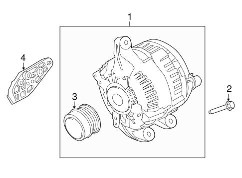 Alternator For 2016 Lincoln Mkz