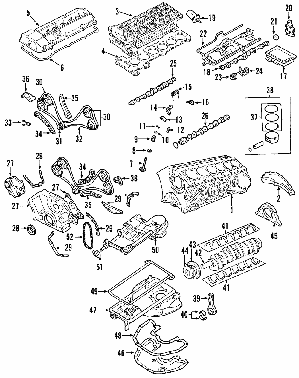 Details About Genuine Bmw Timing Chain 11318618318