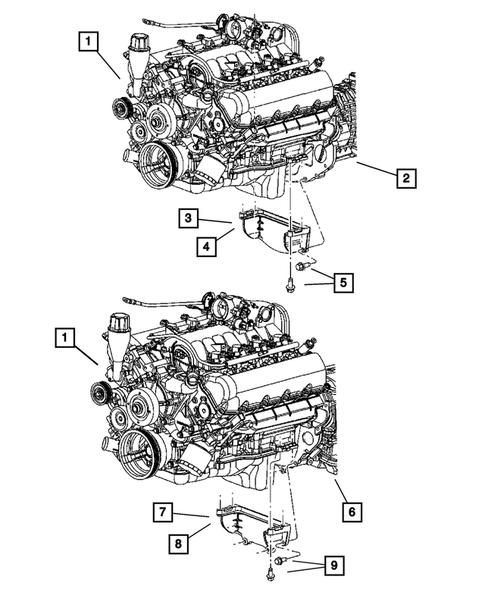 Genuine Chrysler 52020546AB Transmission Mount Bracket