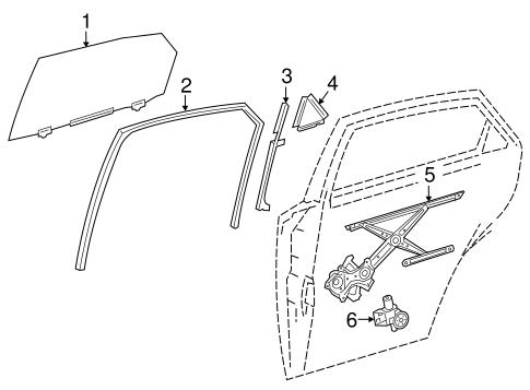 Rear Door For 2017 Lexus Nx200t
