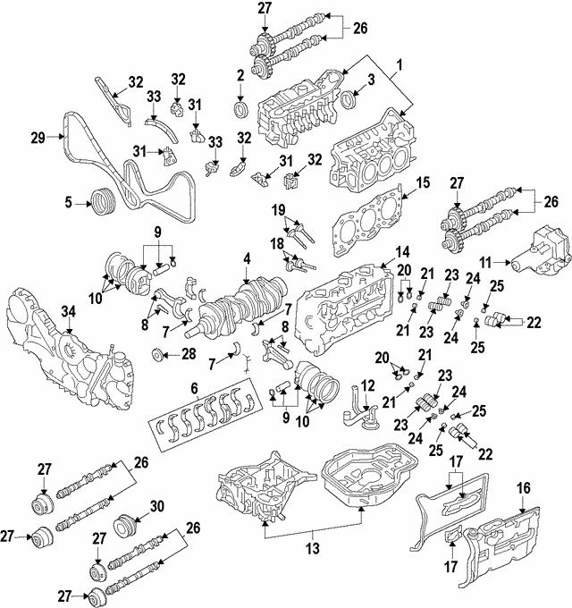 camshaft gear - subaru (13223aa150)