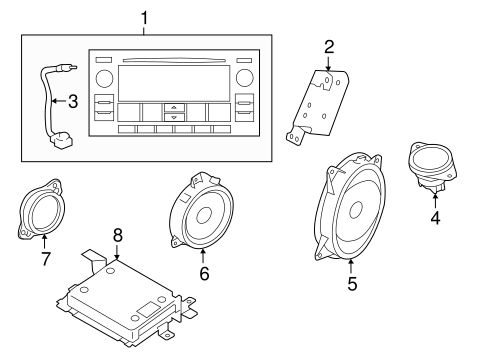 Sound System For 2017 Subaru Forester