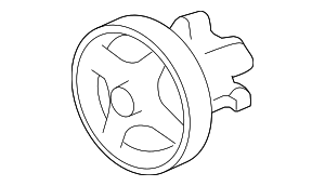 Power Steering Pump - Ford (7R3Z-3A696-A)