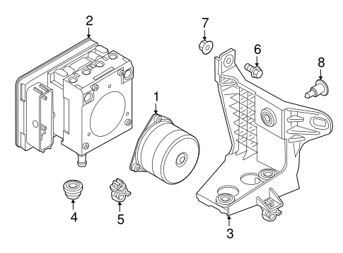 ABS Components for 2015 Jeep Renegade #0