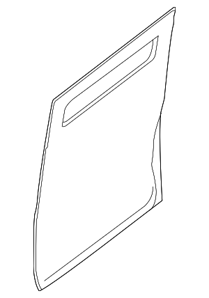 Outer Panel - Nissan (82152-1PA0F)