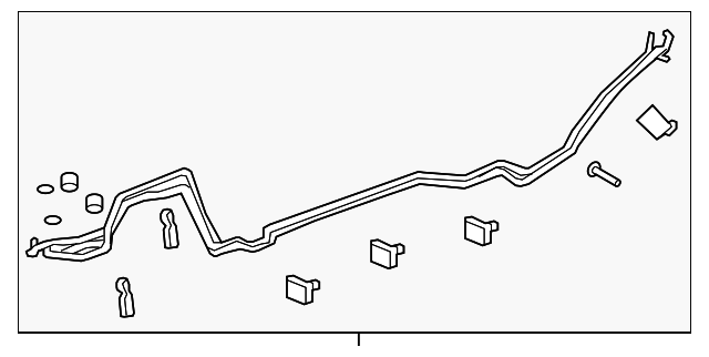 Rear Ac Tube Gm 23199274 Gmpartsnow