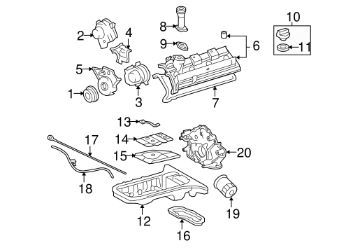 Engine Parts for 2009 Toyota Tundra #0