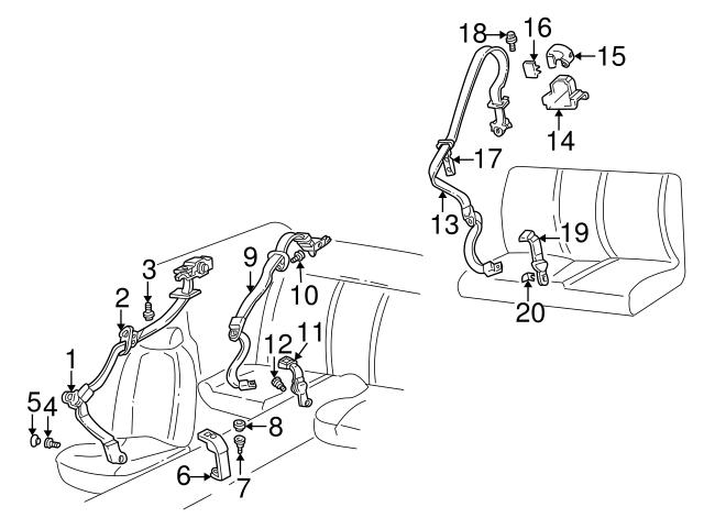 Retractor Assembly Bracket