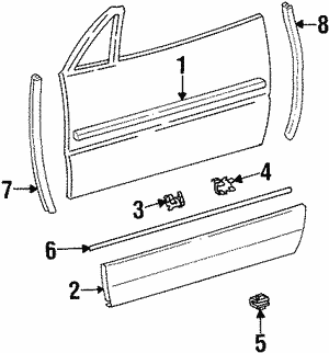 Molding Assembly Lock Ring
