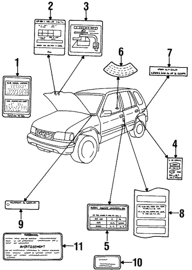 Kia Vacuum Diagram