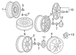 Wheel, Alloy - GM (9597514)