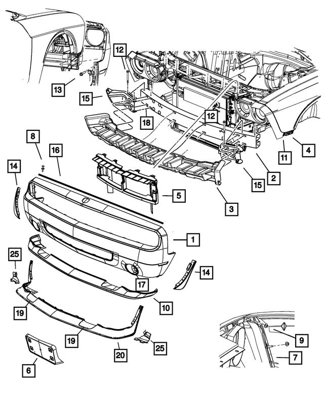 Mopar Performance 68043392AA MOPAR Bracket