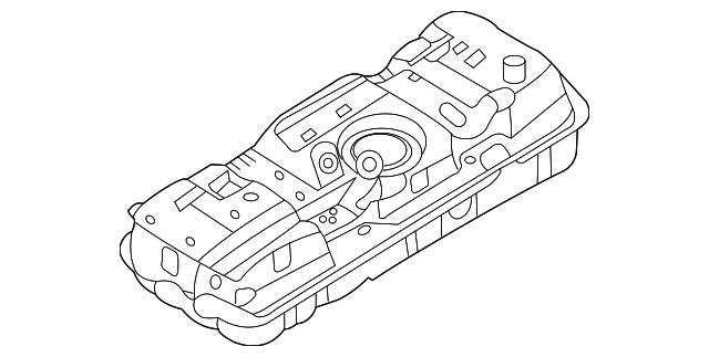 2006 2010 Kia Sedona Fuel Tank 31150 4d550