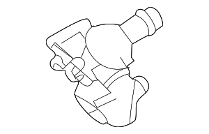 Thermostat Housing - Land-Rover (LR106640)
