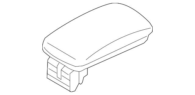 genuine oem armrest part  84660