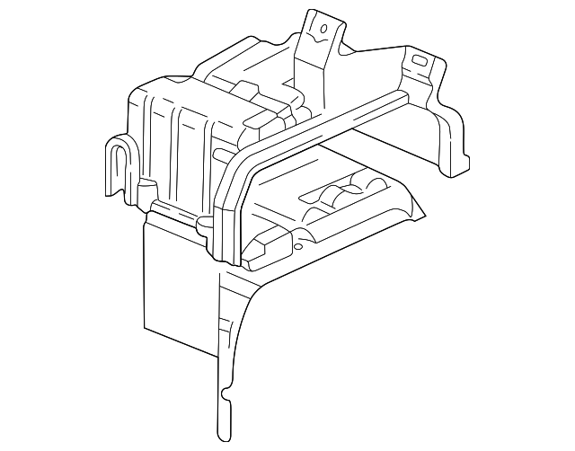 Case, Evaporator (Upper)