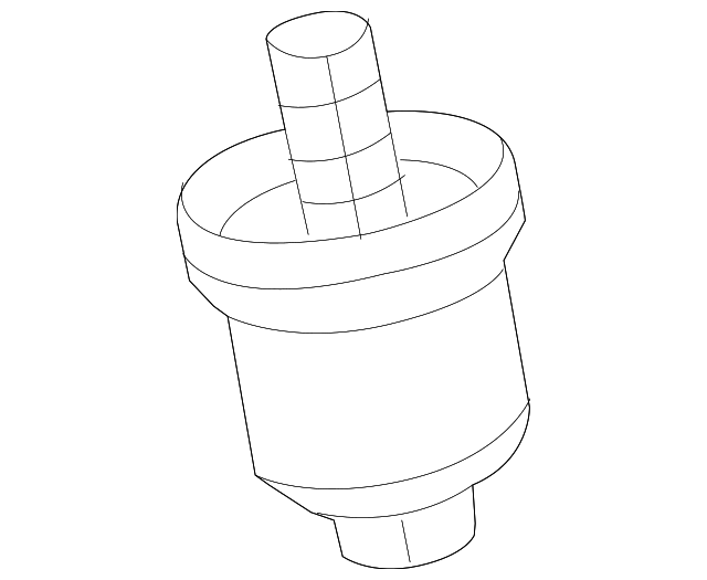 Genuine Volkswagen Oil Filter Housing 07k 115 408