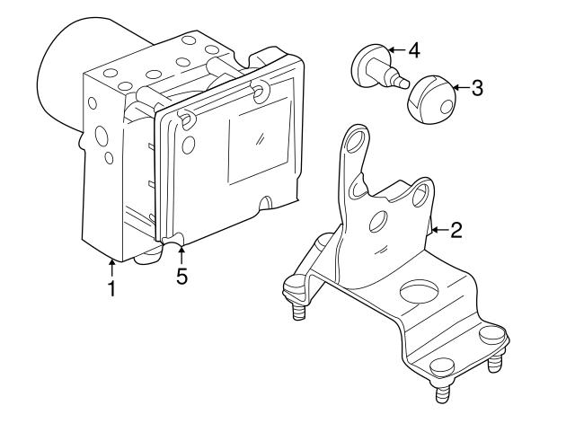 Oem Jaguar Control Module Part No Jlm21323