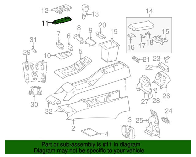 Shift indicator mercedes benz 163 540 00 49 factory oem for Mercedes benz parts contact number