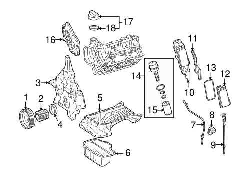 engine parts for 2010 mercedes