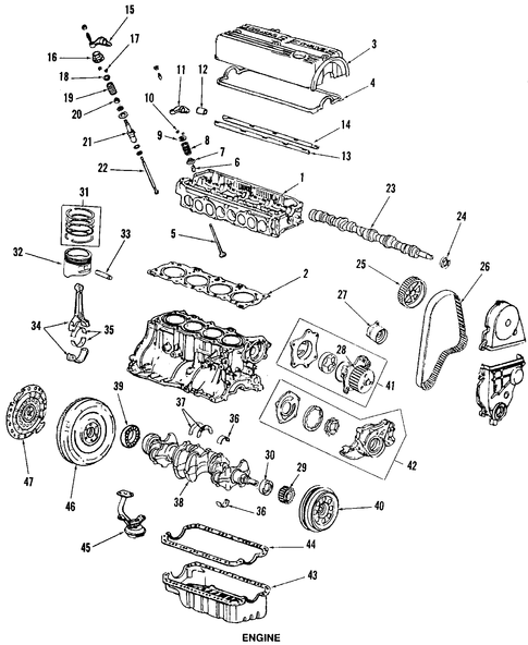 Collar A, Valve Rocker Arm