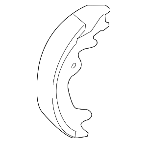 Parking Brake Shoe - Toyota (46550-60070)