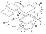 Sunshade - Ford (FL3Z-16519A02-AE)