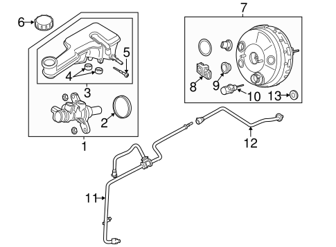 hydraulic system for 2014 ford fusion