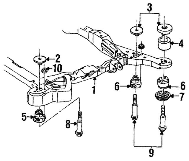 Engine Cradle Upper Insulator