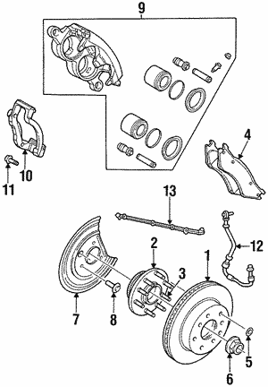 Shop Oem Brake Parts For Your Car Or Truck