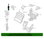 Ignition Coil Bolt
