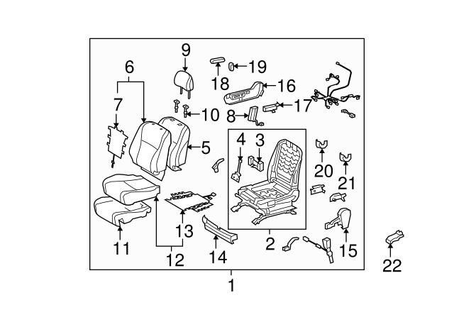 2007 2015 Toyota Headrest Guide 71931 47010 E8