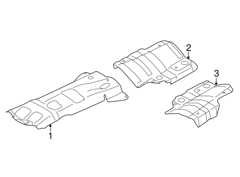 heat shields for 2018 subaru forester #0