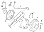 Brake Shoes - GM (96473228)