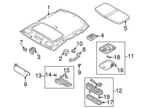 Sunroof For 2002 Mazda Protege5 Open Road Mazda Parts