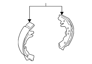 Brake Shoes - Toyota (04495-52170)
