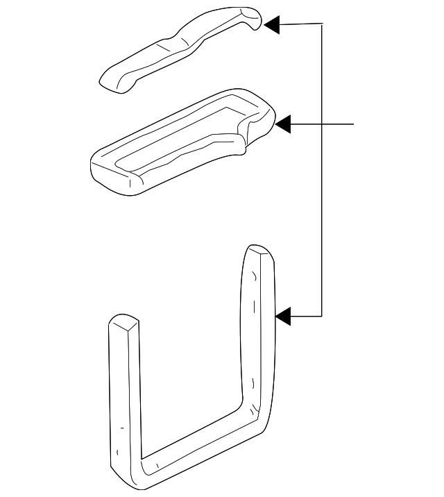 1998 2005 Gm Heater Core Seal Kit 52480246