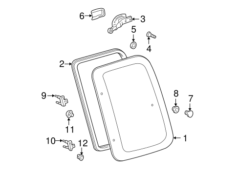 Lock Assembly Cover