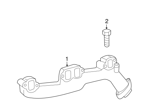 Exhaust Manifold For 2007 Dodge Magnum