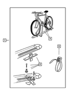 Bike Carrier Hardware Kit