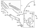 Wiper Arm - Kia (98311-D4000)