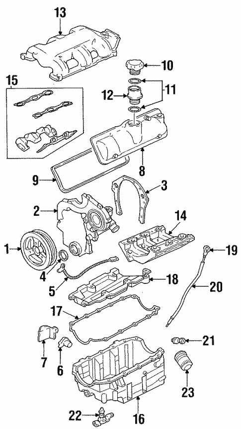 intake for 2004 oldsmobile silhouette #0