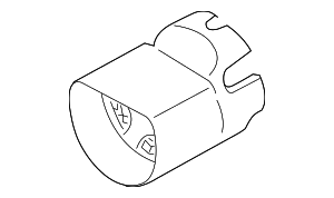 Column Cover - Mercedes-Benz (171-462-09-23-7F64)