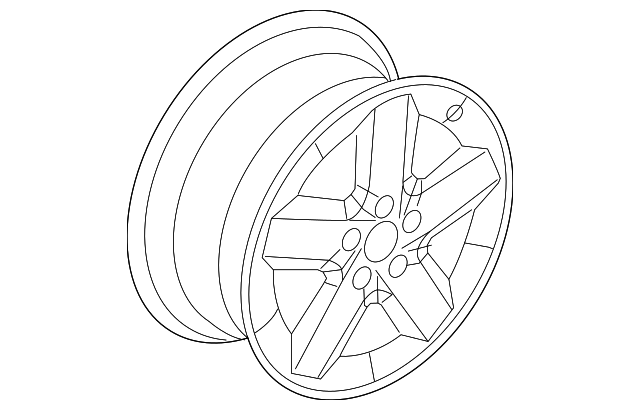 Wheel Alloy Mopar 5105691ab Quirk Parts