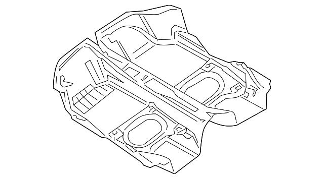 1997 2004 Porsche Boxster Carpet 986 551 011 02 Efc