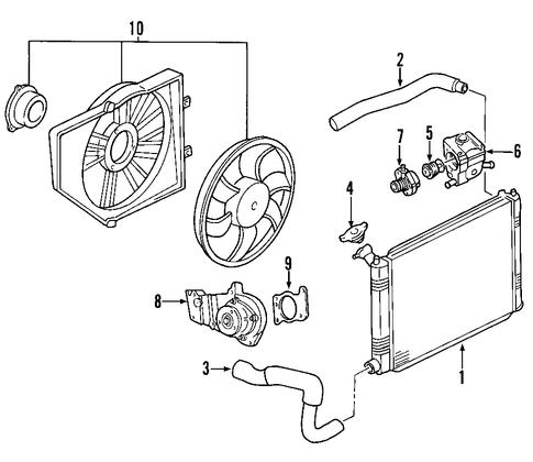 cooling system for 2000 ford focus. Black Bedroom Furniture Sets. Home Design Ideas