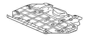 Cover, Engine (Lower) - Honda (74111-T7W-A00)