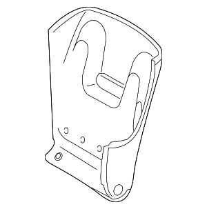 Seat Back Panel - Mercedes-Benz (211-910-76-39-7F95)